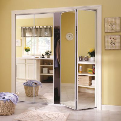 Custom Bifold Mirror Closet Doors Yyc Closets Glass